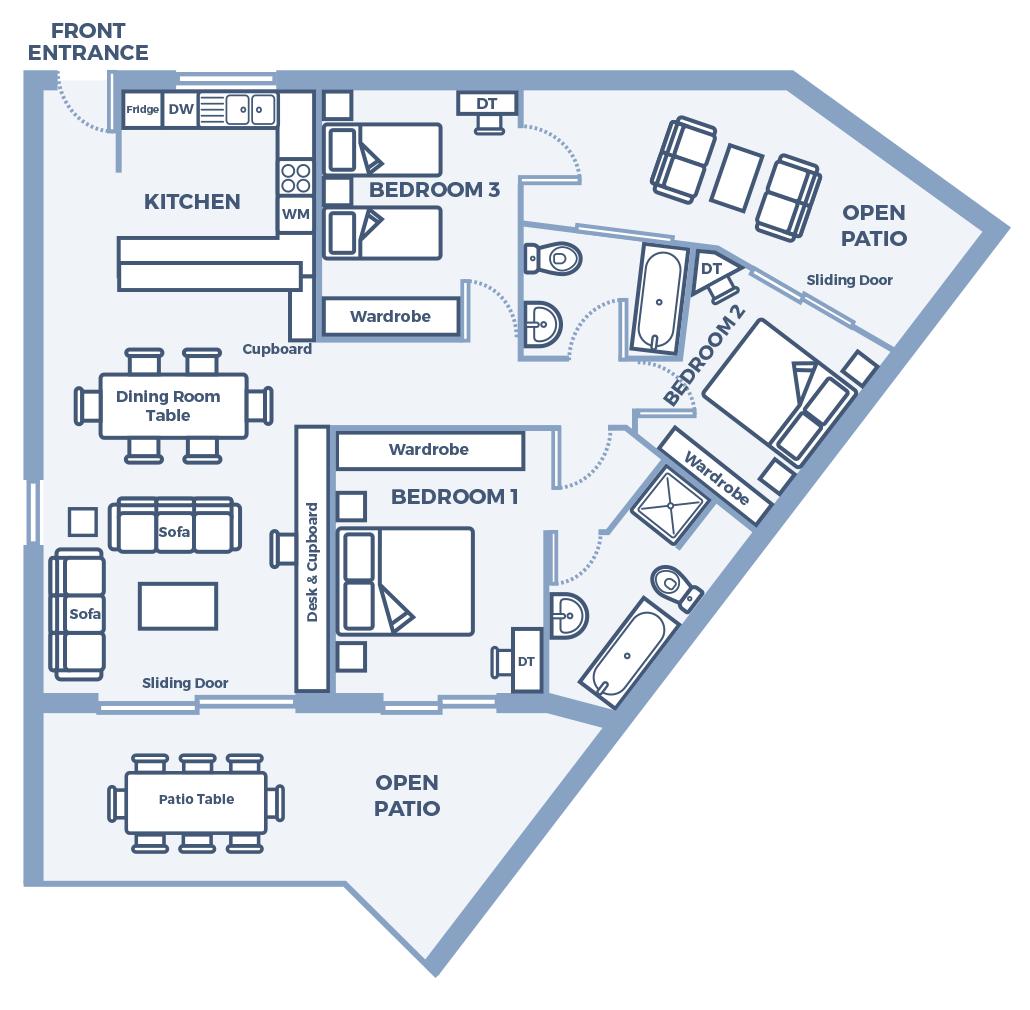 Century City Collection- Portofino G10 - Floor Plan
